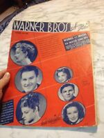 Warner Bros Song Folio 2nd Edition Sheet Music Piano Vocal Guitar Chord 25 songs