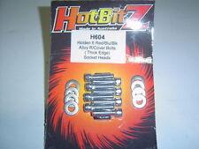 Holden 6 149-202 Chrome Alloy R/Cover Bolts Thick Edge Sent Registered Post