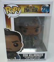 Marvel Funko POP Black Panther #278 Erik Killmonger Vinyl Bobble-Head