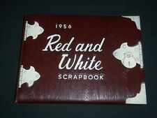 1956 RED AND WHITE BATTIN HIGH SCHOOL YEARBOOK - ELIZABETH NEW JERSEY - YB 1715