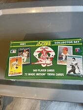 Factory Sealed! 1991 Score Collector Set of 900 baseball card Dream Team cards