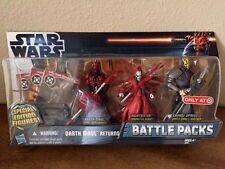 Star Wars Battle Packs Darth Maul Returns 2012 NIB