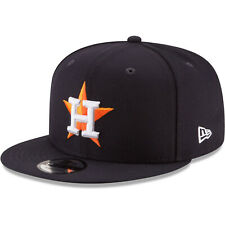 2020 Houston Astros New Era 9FIFTY MLB Snapback Hat Cap Flat Brim Navy 950