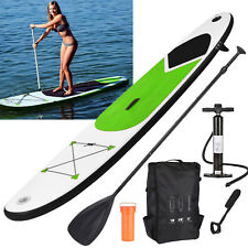 d6acf5503 GEEZY Inflatable Stand Up Paddle Board 305cm SUP with Ankle Strap Pump  Carry Bag