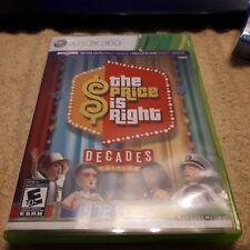 XBOX 360 THE PRICE IS RIGHT DECADES COMPLETE!