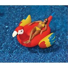 "Giant Parrot Pool Float - Large Pool Inflatable Raft - 76"" x 45"""