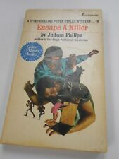 Escape A Killer by Judson Philips (1974, USA) 1st Printing- Pinnacle Books