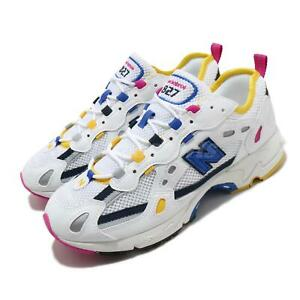 New Balance 827 White Blue Yellow Men Women Unisex Lifestyle Shoes ML827AAO D