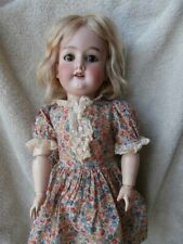"Very Sweet Antique German Cm Bergmann Bisque Head Doll 19"""