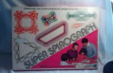 KENNER'S SUPER SPIROGRAPH WITH SUPER SQUARE & BOOKLET no.14271  1978