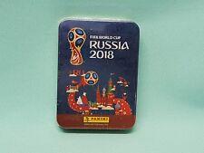 Panini wm 2018 Russia World Cup sticker Collectors mini Tin box int. version
