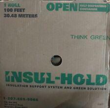 Insul-sistema de soporte de aislamiento de espera y la solución Verde - 1, Rollo De 100 pies