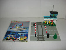 Lego System 4532; Bahnübergang für 9 V Eisenbahn - OBA
