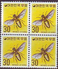 Korea - Sc 649 Bee block 1974