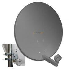 Megasat 60cm Sat Mirror Satellite Antenna Dish 60 cm Steel Anthracite