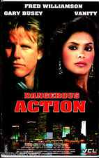 """VHS - """" Dangerous ACTION ( South Beach ) """" (1993) - Gary Busey - Vanity"""
