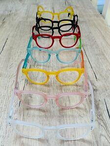 Colourful Designer Reading Glasses Unisex or 15 Funky Colours