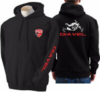 Felpa moto Ducati Diavel gruppo Mr. Diavel hoodie sweatshirt bike hoody sweater