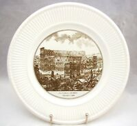 """Wedgwood PIRANESI PLATES """"The Arch of Constantine and the Colosseum"""" 10 1/2"""""""