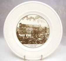 "Wedgwood Piranesi Plates ""The Arch of Constantine and the Colosseum"" 10 1/2"""