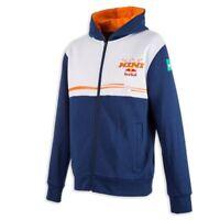 KTM Kini Red Bull Team Sweat Jacket Blue White Hooded Jacket RRP £72.18!!