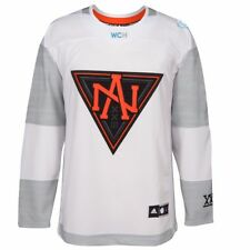 North America NHL Adidas White 2016 World Cup of Hockey Premier Away Jersey