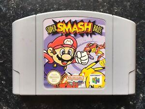 Super Smash Bros Game Cartridge PAL N64 Nintendo 64