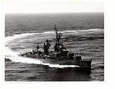 1964 USS Frank Knox DD742 Destroyer Navy Ship Official Photograph 8x10 BW