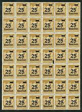 Reich 283 postfris veldeel van 42