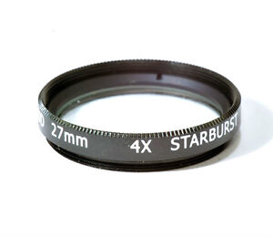 27mm High Quality Glass Kood Star 4 Filter Made in Japan 4 Point 4PT
