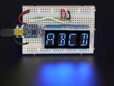 environ 1.37 cm chiffres avec I2C Sac à dos Quad affichage alphanumérique-bleu 0.54 in