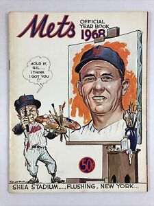 New York Mets Official 1968 Year Book Original Edition Vintage Rare MLB