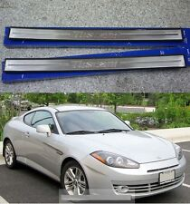 Tuscani Metal Side Door Sill Scuff Step For Hyundai Tiburon Coupe 2003-2008
