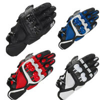 Racing Mtb Motorcycle Gloves Leather Guantes Moto Motociclista Motorbike Gloves
