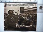 Vintage AP Wire Press Photo 1973 Watergate Nixon Detained By Children In Georgia