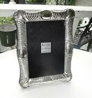 RIBBED+EDGES+STERLING+SILVER+PICTURE+FRAME%2C9%22+X+7%22%2CORIGINAL+W%2FGLASS%2CEXCELLENT