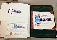 Cinderella VHS Exclusive Deluxe Disney Masterpiece Lithographs Certificates More