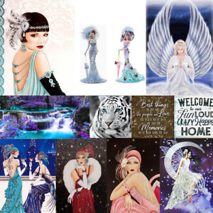 DIY 5D Diamond Painting Embroidery Cross Craft Stitch Art Kit Home Decor Lady UK