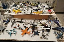 53 Matchbox , RealToy,etc..Airplanes and Helicopters .New/Used..53 pcs..Lot Only