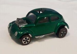 Hot Wheels Redlines Custom Volkswagen, Blown VW Bug, Green, ORIGINAL