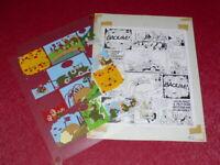 [ Bd ] Marciales/Tony Laflamme Volapük Lámina Colores Celuloide Original 1974 (2