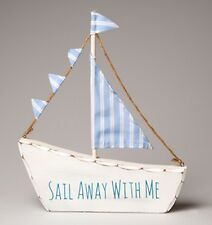 Sail Away With Me boat decoration beach hut sea seaside sailing