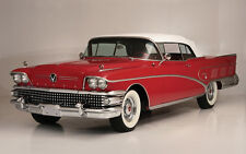 """1958 Buick Limited Convertible 11 X 14"""" Photo Print"""