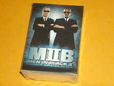 THE MEN IN BLACK II (2) 'MIIB' Base Set Of 81 Premium Trading Cards Will Smith..