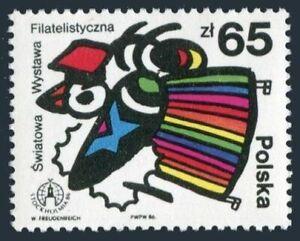 Poland 2756,2756a sheet,MNH.Michel 3048,Bl.100. STOCKHOLMIA-1989.Bee.