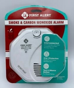 First Alert SC0500 Battery Operated Smoke and Carbon Monoxide Alarm