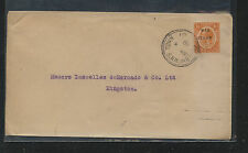 Jamaica  . Browns  Town   war tax stamp on  cover  , local use     MS0312