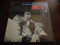 ELVIS PRESLEY CMON EVERYBODY VINYL LP PICKWICK