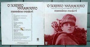 MASSIMO RANIERI DISCO LP 33 GIRI 'O SURDATO 'NNAMMURATO CGD FGL 5103