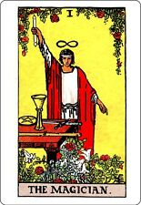 A5 Print – Tarot Cards THE MAGICIAN (Picture Poster Art Playing Card Wicca Magic